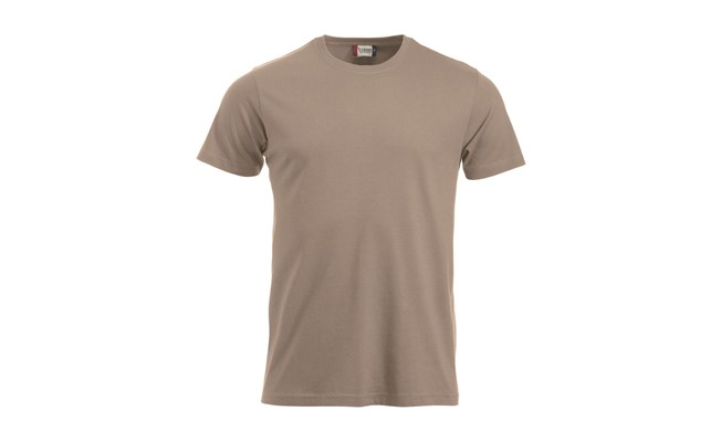 Classic heren t-shirt - caffee latte