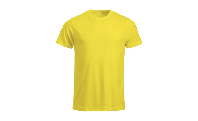Classic heren t-shirt - lemon