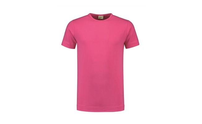 Crewneck heren t-shirt - roze