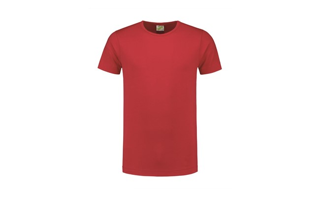 Crewneck heren t-shirt - rood