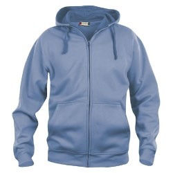 Basic heren hoody full zip