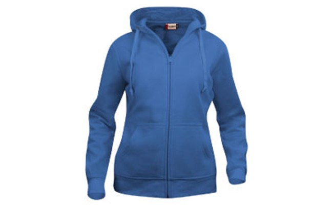 Basic dames hoody full zip