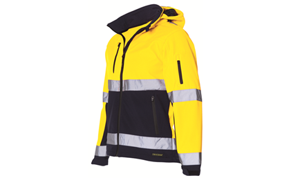 Tricorp Soft shell ISO20471 Bi-Colour