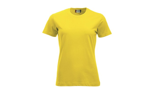 Classic dames t-shirt - lemon