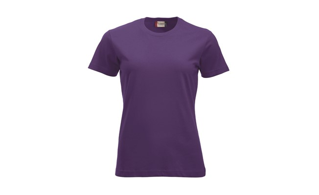 Classic dames t-shirt - heder lila
