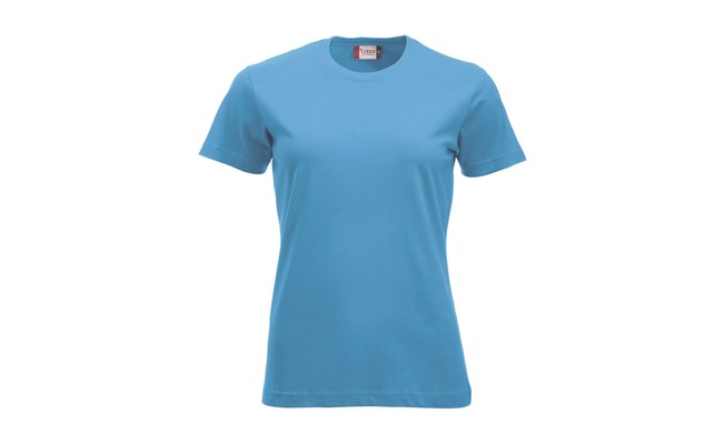 Classic dames t-shirt - turquoise