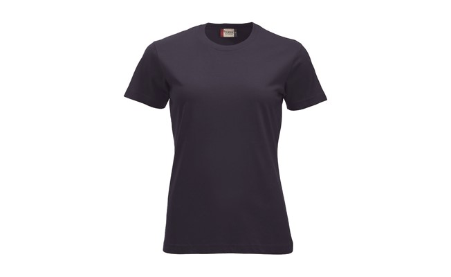 Classic dames t-shirt - dark navy